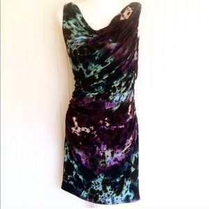 Suzi Chin sleeveless shift dress